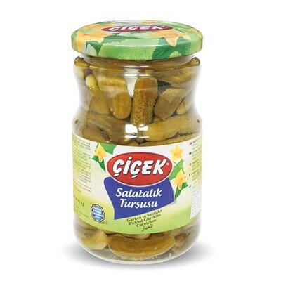 Gurken in Salzlake- Essiggurken-Salatalık Tursu-Essigkonserven Cicek