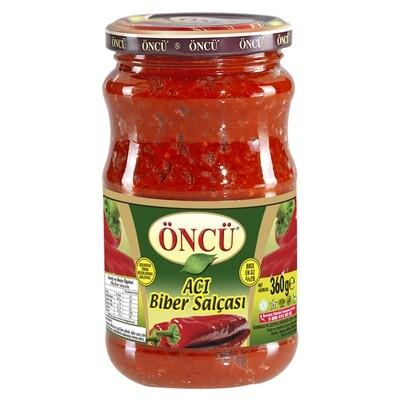 Tomatenpaste- Tomatenpüree - Peperonipaste Scharf Türkisch- Öncü