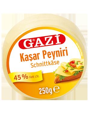 Gazi Kashkaval Schnittkaese 250 /400 gr.