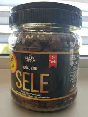 Luxus Natuerliche Sattel Schwarz Oliven 700 gr.