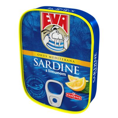 Eva Sardina Tuna Podravka Konserven 115 gr.