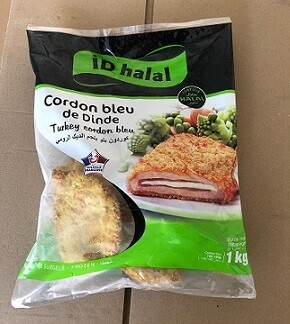 Poulet Cordon Bleu Halal online bestellen