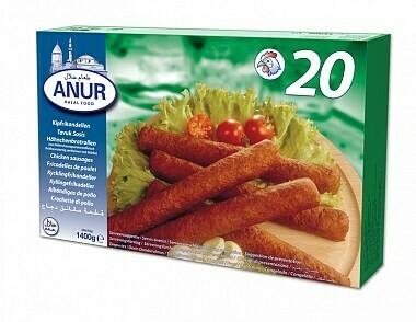 hähnchenbratrollen poulet sausage online bestellen