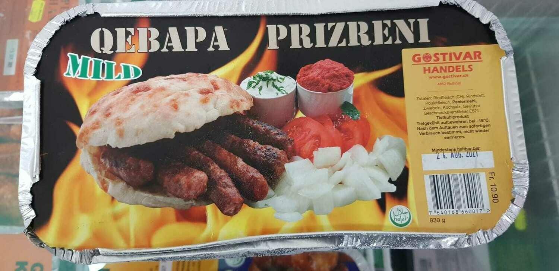 Qebapa Prizreni online guenstig bestellen