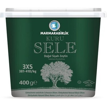 Sattel Oliven-Marmarabirlik Tuerkische Schwarze Oliven