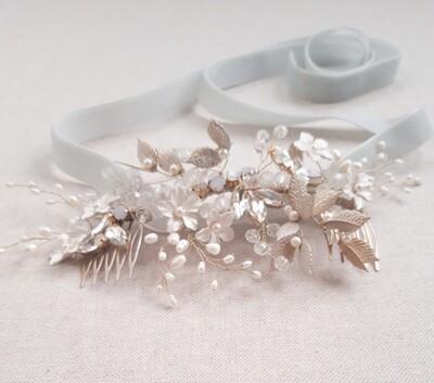 Bryony bridal comb