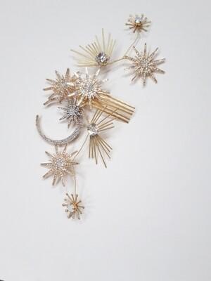 Ava - Celstial bridal comb