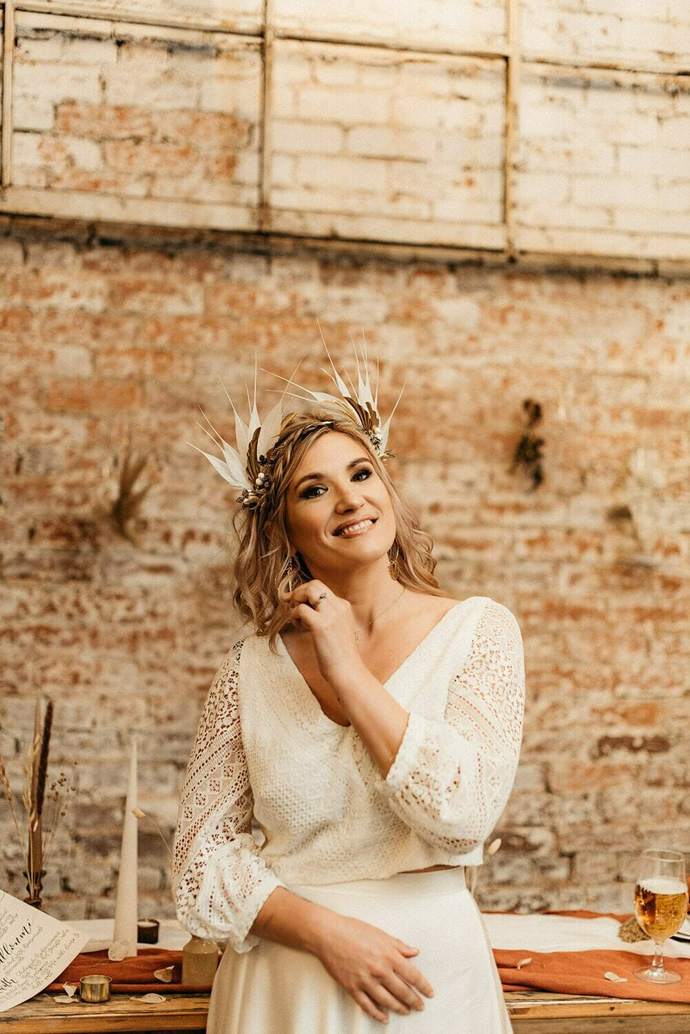Phoenix Statement Bridal Crown