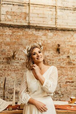 Phoenix Statement Bridal Crown
