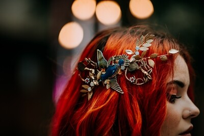 Songbird Bridal Headpiece