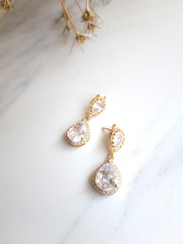 Emily CZ earrings