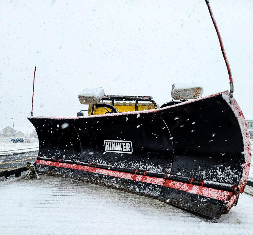 Fairly New Hiniker Snow Plow