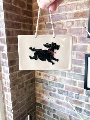 Pete-402 Hanging Folk Art Tile