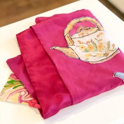 Ferr-407 Teapot Pink Lined
