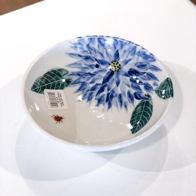 Pete-447 Blue Dahlia Med  Bowl