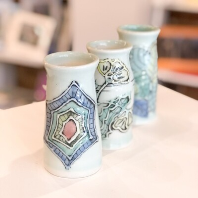 Grob-123 Tiny Vases Porcelain