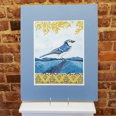 Scri-85 Print Bird