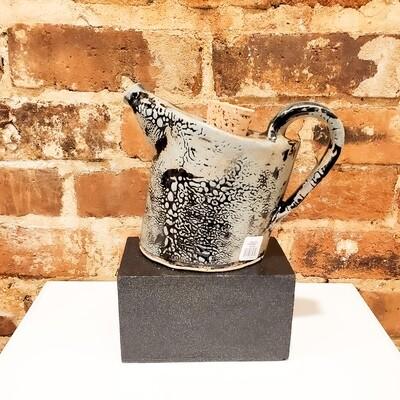 Knop-601 Stoneware Teapot Functional Blue/Gray (6