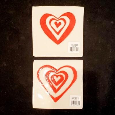Pete-439 Sm Tiles W/hearts