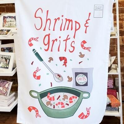 Onei-601 Shrimp Grits Tea Towel