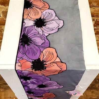 Ferr-416 Big Flowers Violet