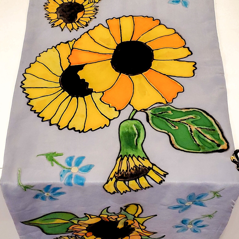 Ferr-414 Sunflowers Lined