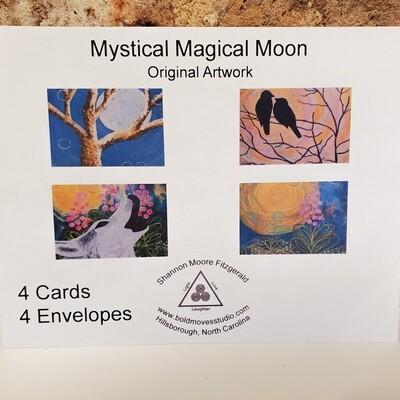 Fitz-802 Cards Pkg Mystical Magical Moon