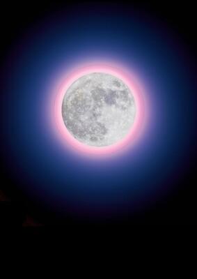 Lauren Baker, Super Pink Moon (Diamond Dust)