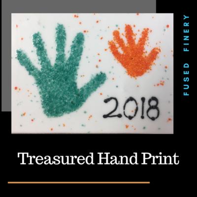 Treasured Hand Print