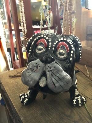Talavera Sugar Skull Bulldog