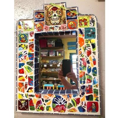 Mosaic Mirror by Merilee Tucik