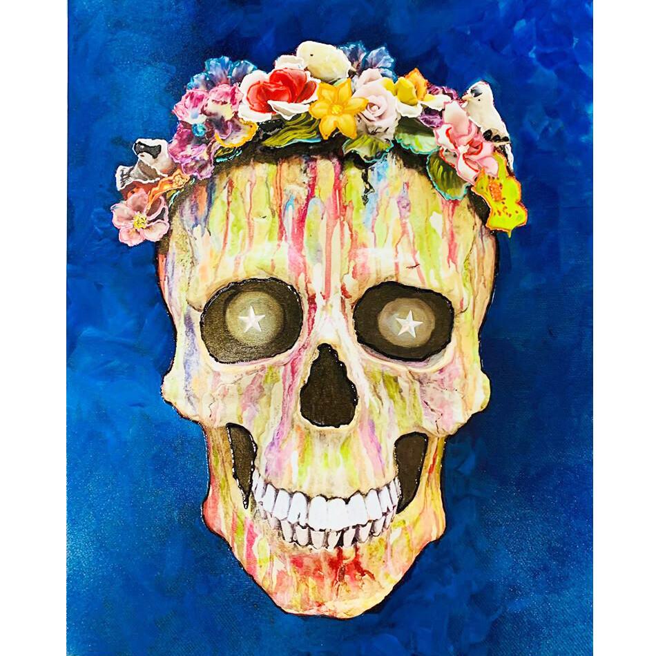 Canvas Giclee - Sugar Skull