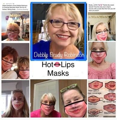 Masks by Debbie Brady Robinson