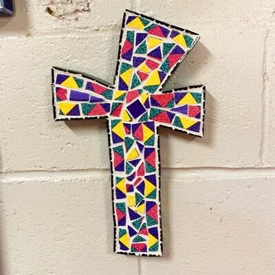 Mosaic Cross by Merilee Tucik