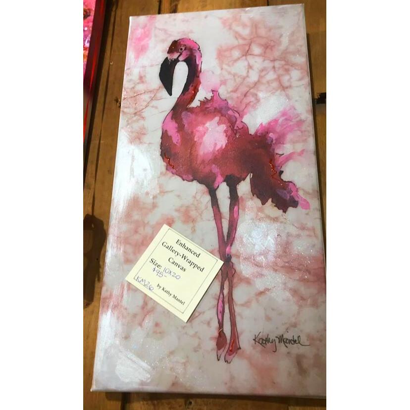 Enhanced Canvas Print by Kathy Mantel