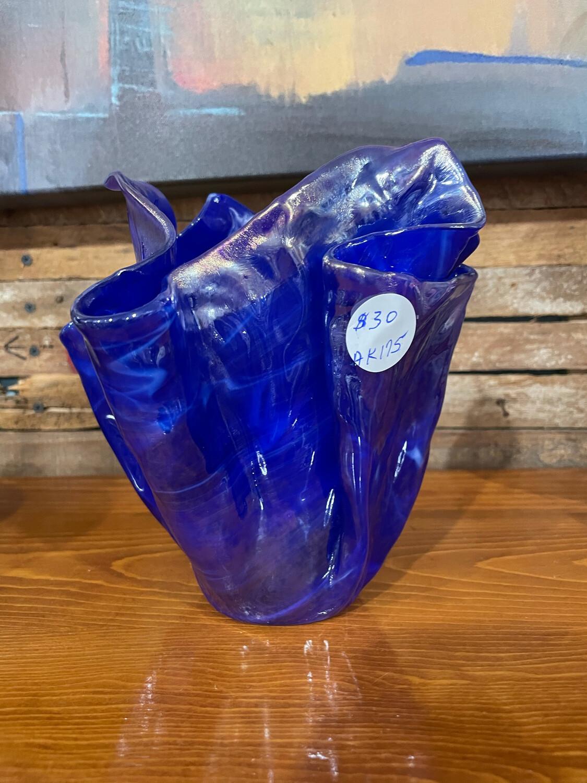 Glass Fusion Vase by Alice Kirish