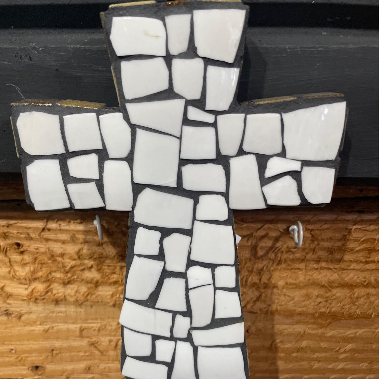 Mosaic Cross by Jo Lukas