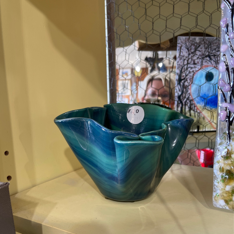 Glass Fusion Vase