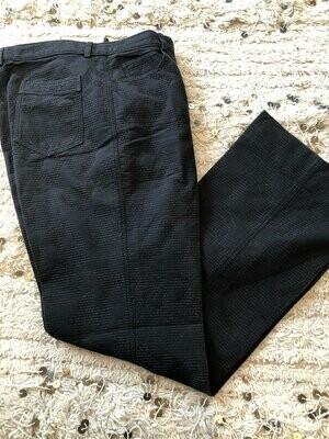 Vintage 90's CHANEL CC Logo Mania! Camellia Flower, No 5 Perfume Bottle Print Pants Trousers FR 42 / M - L