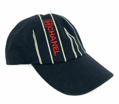 VINTAGE CHANEL CC LOGO SPORT BASEBALL HAT