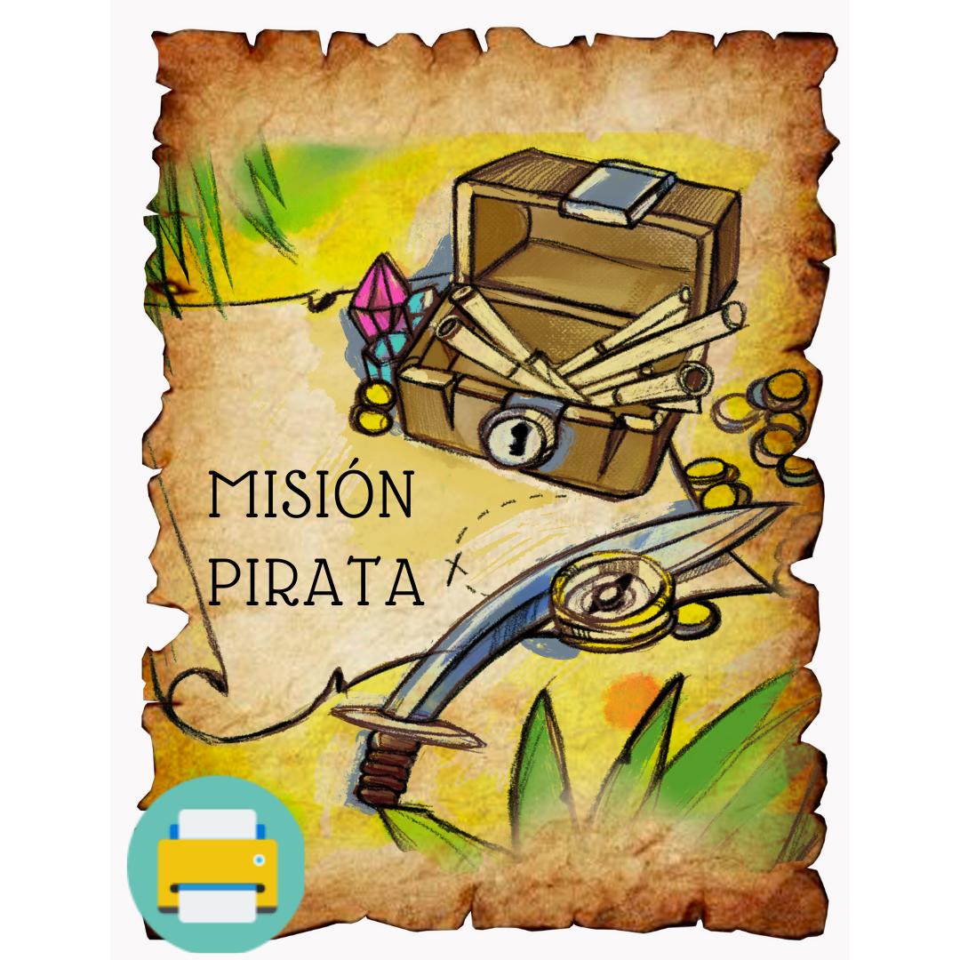 La Misión Pirata (imprimible)