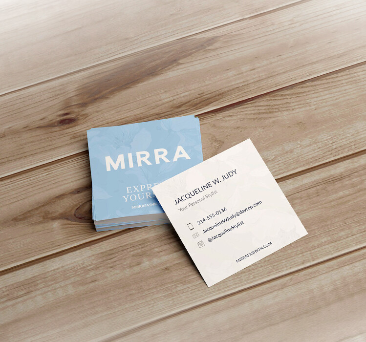 500 3X3 Square Business Cards