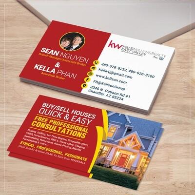 5000 Standard Business Cards