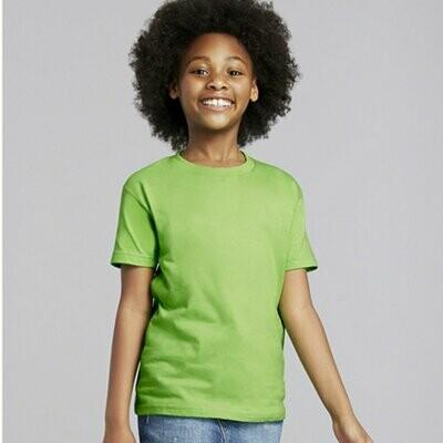 Gildan Youth G2000B Ultra Cotton T-Shirt 100% 6.1 oz - 2030B