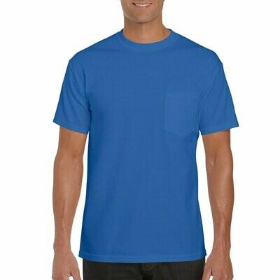 Gildan Ultra Cotton Heavyweight Pocket T-Shirt 100% 6.1oz - 2300