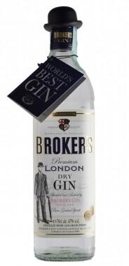 Brokers Gin 70cl - Broker's Gin