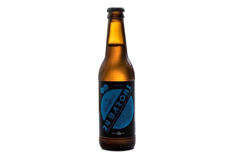 Birra Bianca Blanche Belga 33 cl - Birrificio 24 Baroni