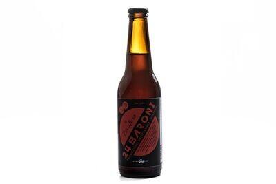 Birra Rossa Belgian Amber Ale 33 cl - Birrificio 24 Baroni