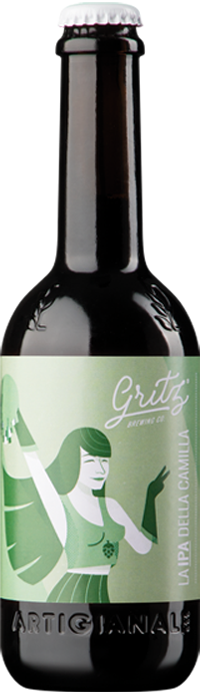 Birra Ipa 33 cl - Birrificio Gritz