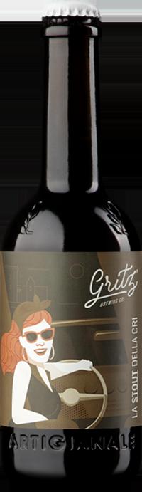 Birra Dry Stout 33 cl - Birrificio Gritz